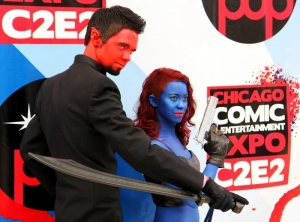Azazel and Mystique: Reed Pop