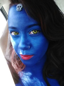 Mystique Close Up